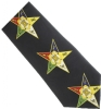 Black Eastern Star Tie Model # 358575