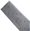 Gray Square & Compass Tie Model # 358603
