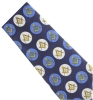Masonic Blue Circle Pattern Tie Model # 358604