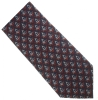 Navy Blue / Red Silk Masonic Tie Model # 358611