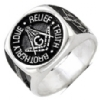Brotherly Love, Relief & Truth Masonic Ring Model # 358699