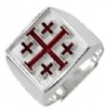 Knight Crusader of the Cross Ring Model # 358721