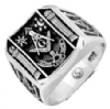 Masonic Pillars Ring Model # 358731