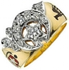 Jeweled Shriners Ring Model # 358787