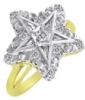 Jeweled Eastern Star Ring Model # 358796