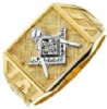 Jeweled Master Mason Ring Model # 358805