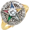 Eastern Star Ring Model # 358915