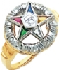 Eastern Star Ring Model # 358920
