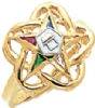 Eastern Star Ring Model # 358921