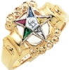 Eastern Star Ring Model # 358923