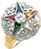 Eastern Star Ring Model # 358926