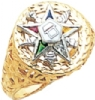 Eastern Star Ring Model # 358928