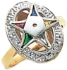Eastern Star Ring Model # 358929