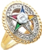 Eastern Star Ring Model # 358931