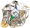 Eastern Star Ring Model # 358932