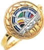 Rainbow Girls Ring Model # 358938