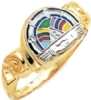 Rainbow Girls Ring Model # 358942