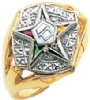 Eastern Star Ring Model # 358944