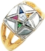 Eastern Star Ring Model # 358945