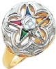 Eastern Star Ring Model # 358946