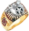 Shriners Ring Model # 358987