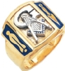 Blue Lodge Ring Model # 359004