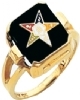 Eastern Star Ring Model # 359127