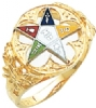 Eastern Star Ring Model # 359138