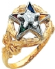 Eastern Star Ring Model # 359142