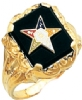 Eastern Star Ring Model # 359193
