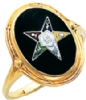Eastern Star Ring Model # 359196