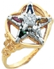 Eastern Star Ring Model # 359209