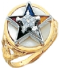 Eastern Star Ring Model # 359214