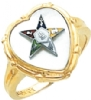 Eastern Star Ring Model # 359215