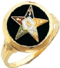 Eastern Star Ring Model # 359228