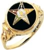 Eastern Star Ring Model # 359229