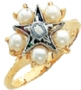 Eastern Star Ring Model # 359235