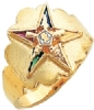 Eastern Star Ring Model # 359296