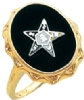 Eastern Star Ring Model # 359300