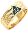 33rd Degree Contoured Scottish Rite Band Model # 359437
