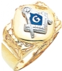Blue Lodge Ring Model # 359540