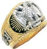 Scottish Rite Ring Model # 359573