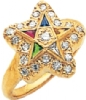 Eastern Star Ring Model # 359620