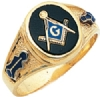 Classic Customizable Freemasons Ring Model # 359674