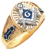 Oval Custom Master Masons Ring Model # 359696
