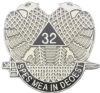 32nd Degree Pin