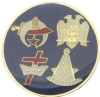 Four Orders Pin