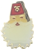 Santa Shriner Pin