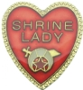 Shrine Lady Pin
