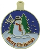 Masonic Merry Christmas Pin